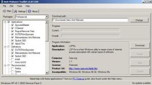 Anti-Malware Toolkit
