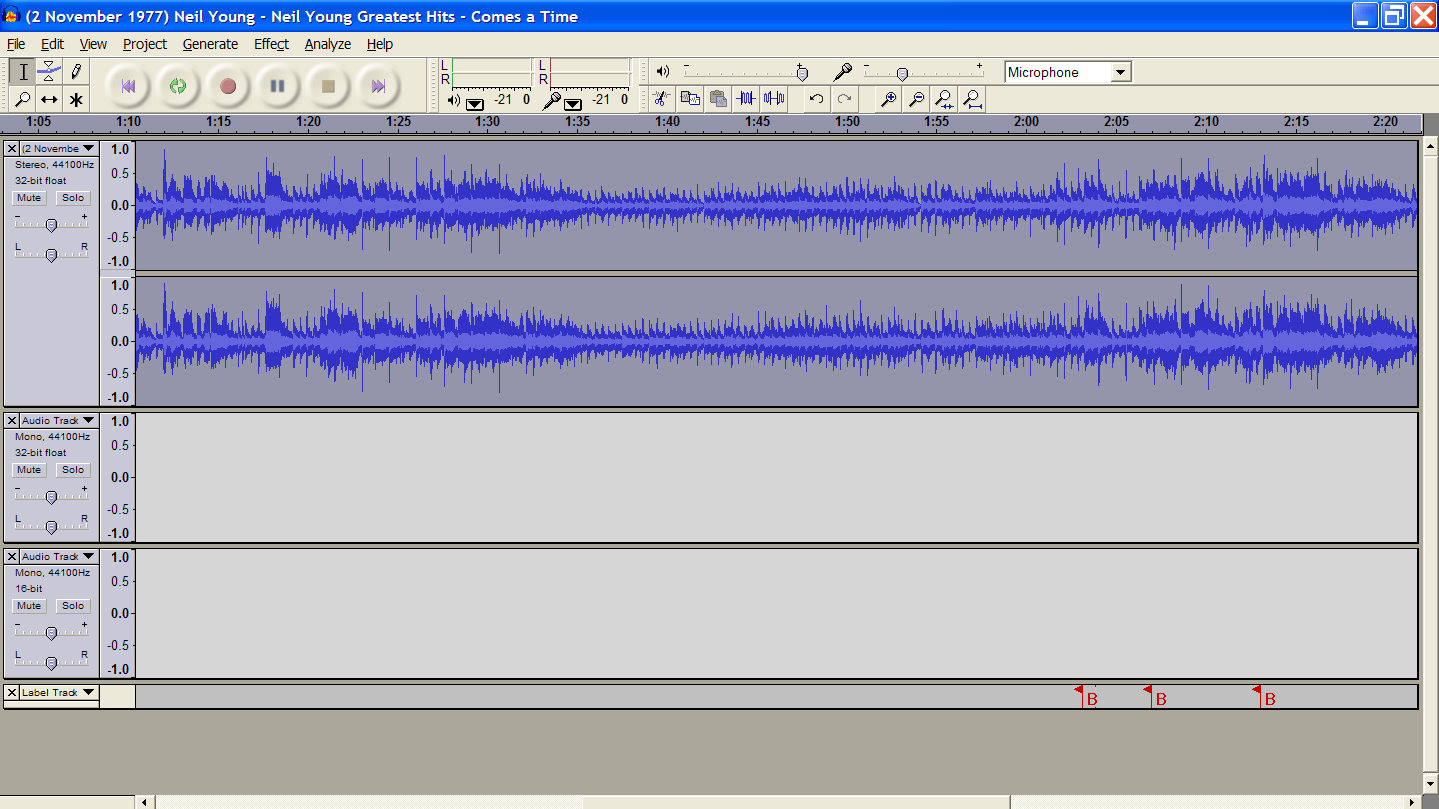 how to make a multi track recording with audacity. Black Bedroom Furniture Sets. Home Design Ideas
