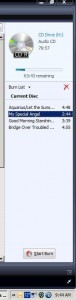 Burn CD with Windows Media Player
