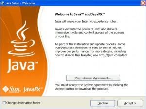 Installing Java