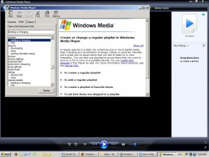 Windows Media playlist help