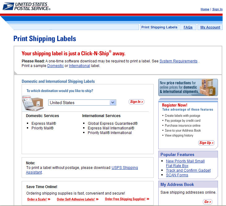 How To Print Mailing Labels And Postage Online