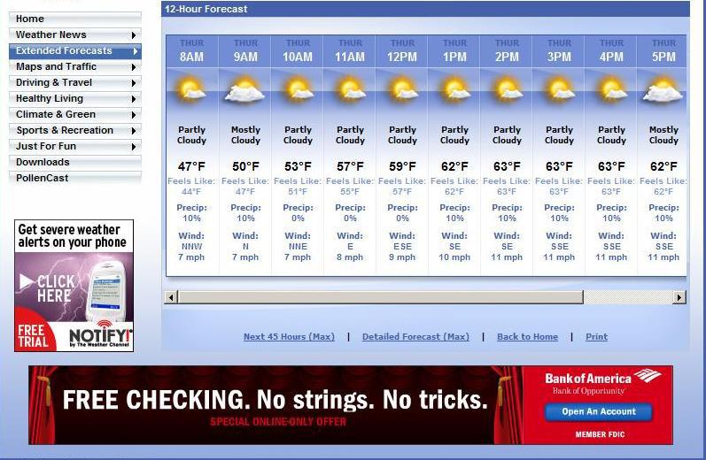 Internet Weather - Weatherccom
