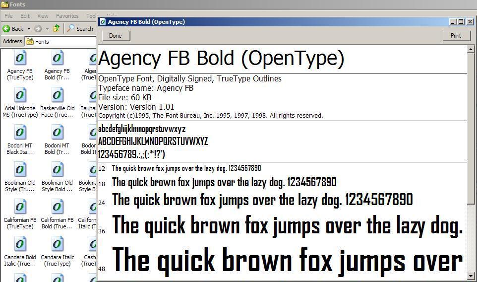 how to make font bigger windows